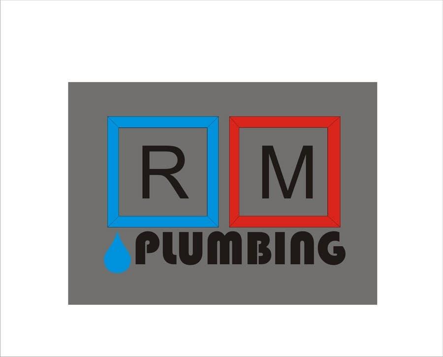Penyertaan Peraduan #52 untuk Graphic Design for RM Plumbing