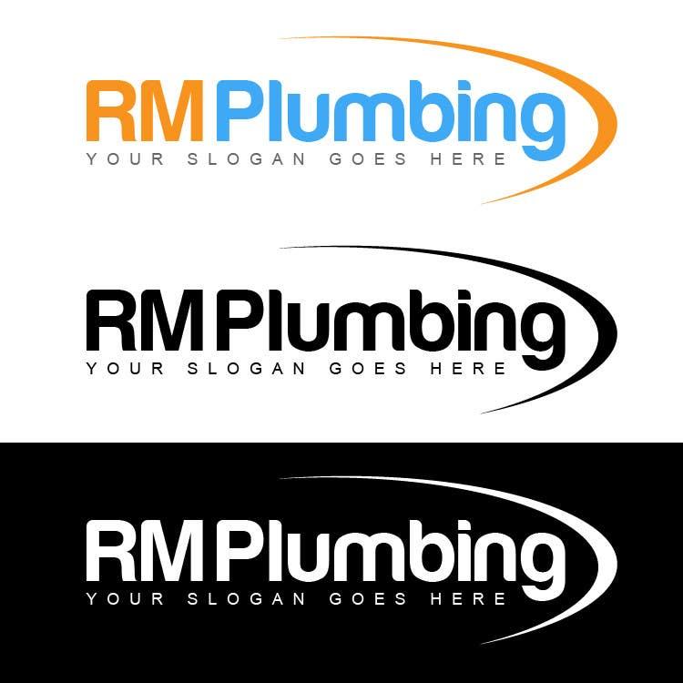 Penyertaan Peraduan #177 untuk Graphic Design for RM Plumbing