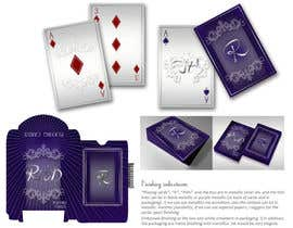 #13 cho Graphic Design for Luxurious Playing Cards bởi drawingTHEword