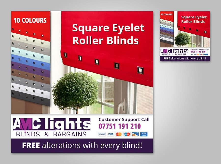 Bài tham dự cuộc thi #                                        14                                      cho                                         Graphic Design for AMC Lights Blinds And Bargains