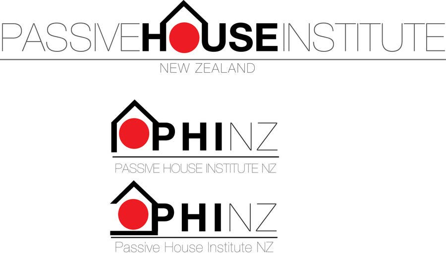 Kilpailutyö #462 kilpailussa Logo Design for Passive House Institute New Zealand