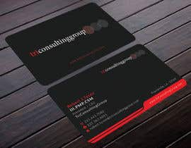 #21 für Design Business Card for TriConsultingGroup von mdahmed2549