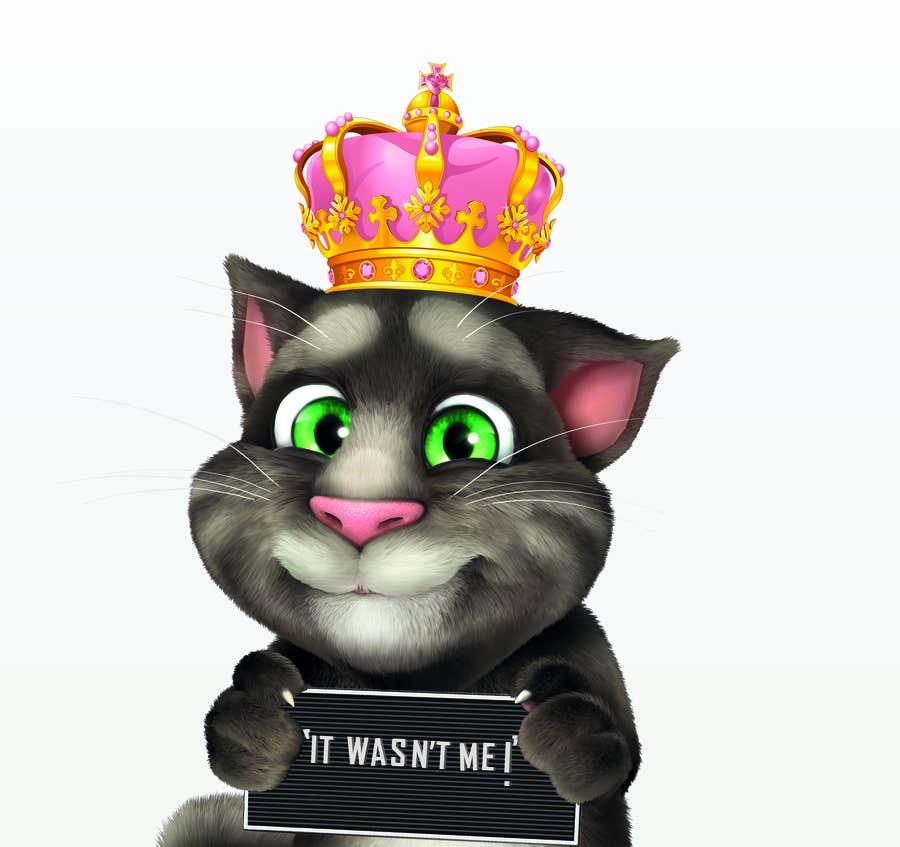 Bài tham dự cuộc thi #                                        15                                      cho                                         make and put crown on cat's head.