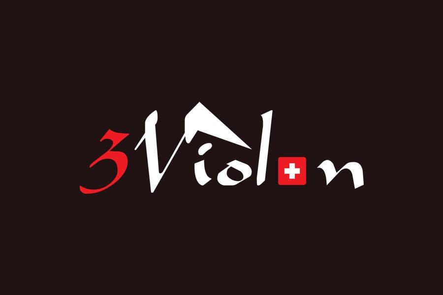 Konkurrenceindlæg #611 for Logo Design for 3Violon