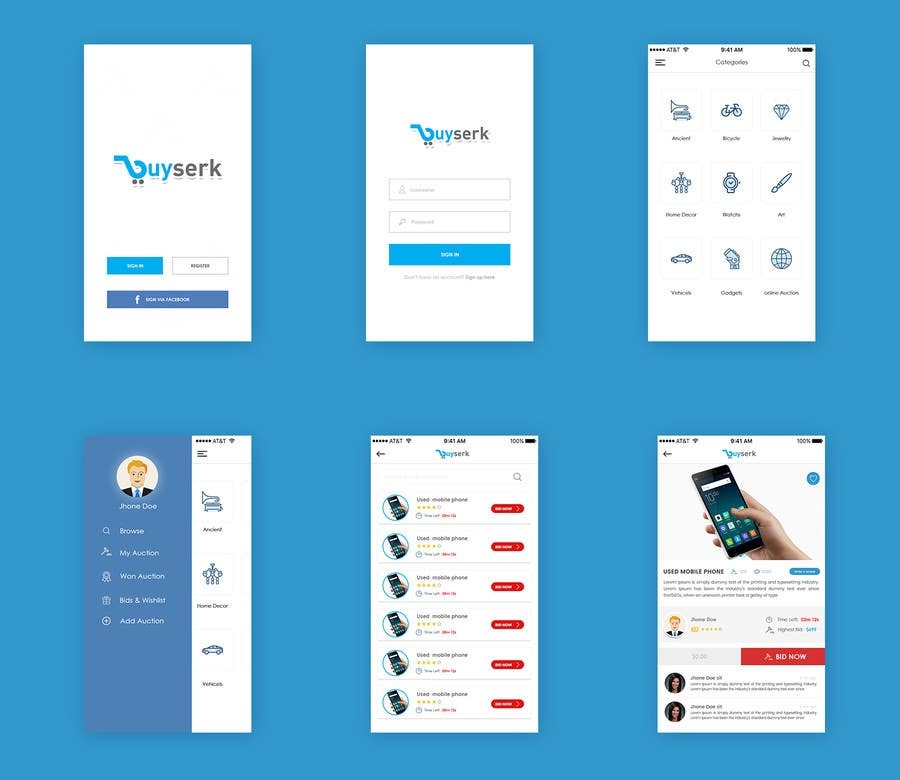 entry 82 by creative423 for design a psd app mockup freelancer