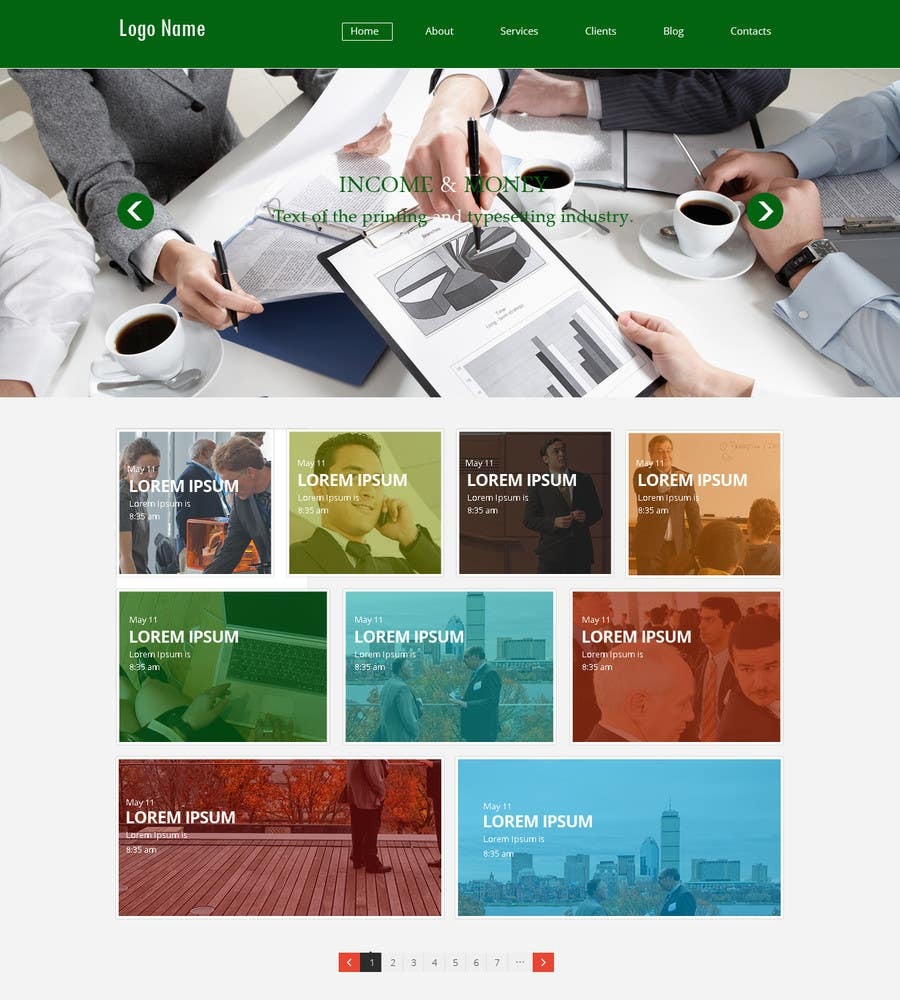 #8 for Create a Wordpress Template for Residual Income SIte by web92