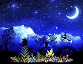 Nro 14 kilpailuun Please create a fairy tale background for my website käyttäjältä ArtGospod