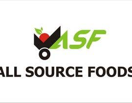 #172 cho Logo Design for All Source Foods bởi smartGFD