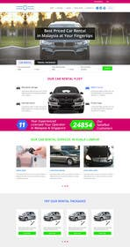 #30 for Car Rental Web Site. Design the main page, win contest and continue working with us on this site in a project environment at $50-100 per page. by happyzee