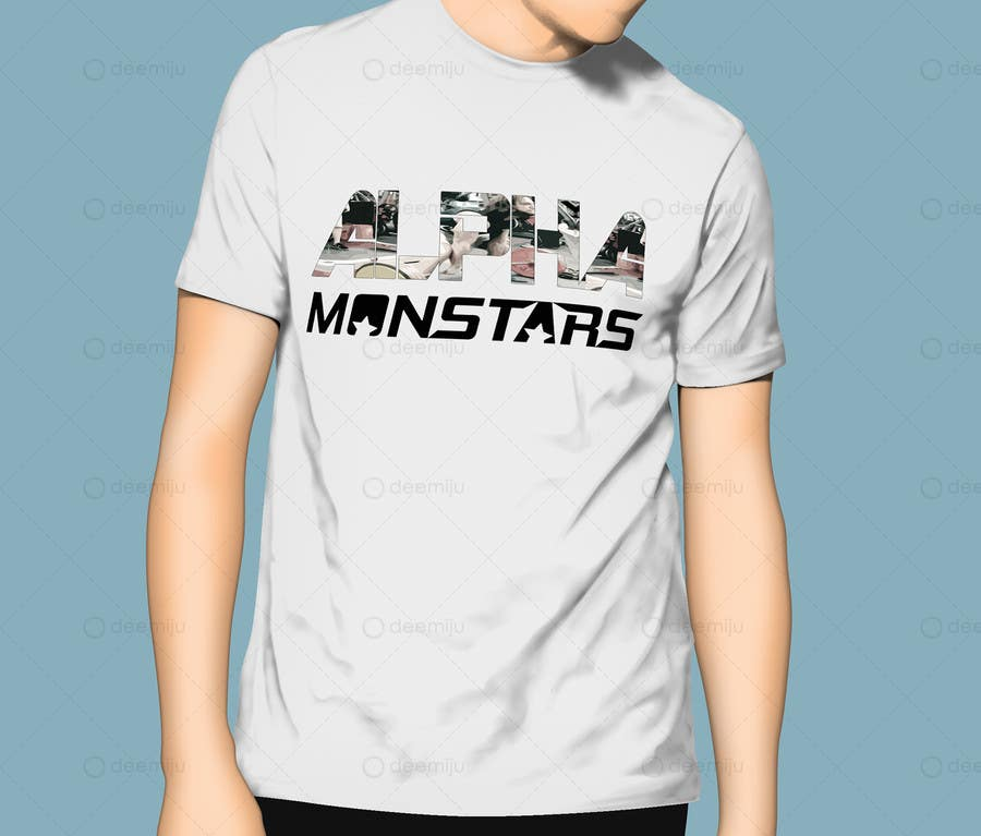 Bài tham dự cuộc thi #                                        16                                      cho                                         Design a T-Shirt for Monstar Apparel - Words with background Images