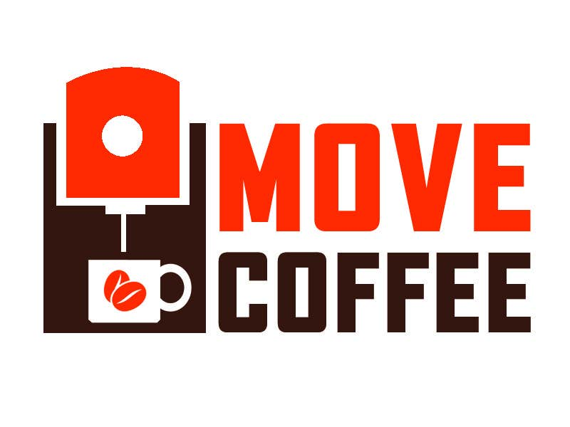 #131 for Design logo for movecoffee company. by brijwanth