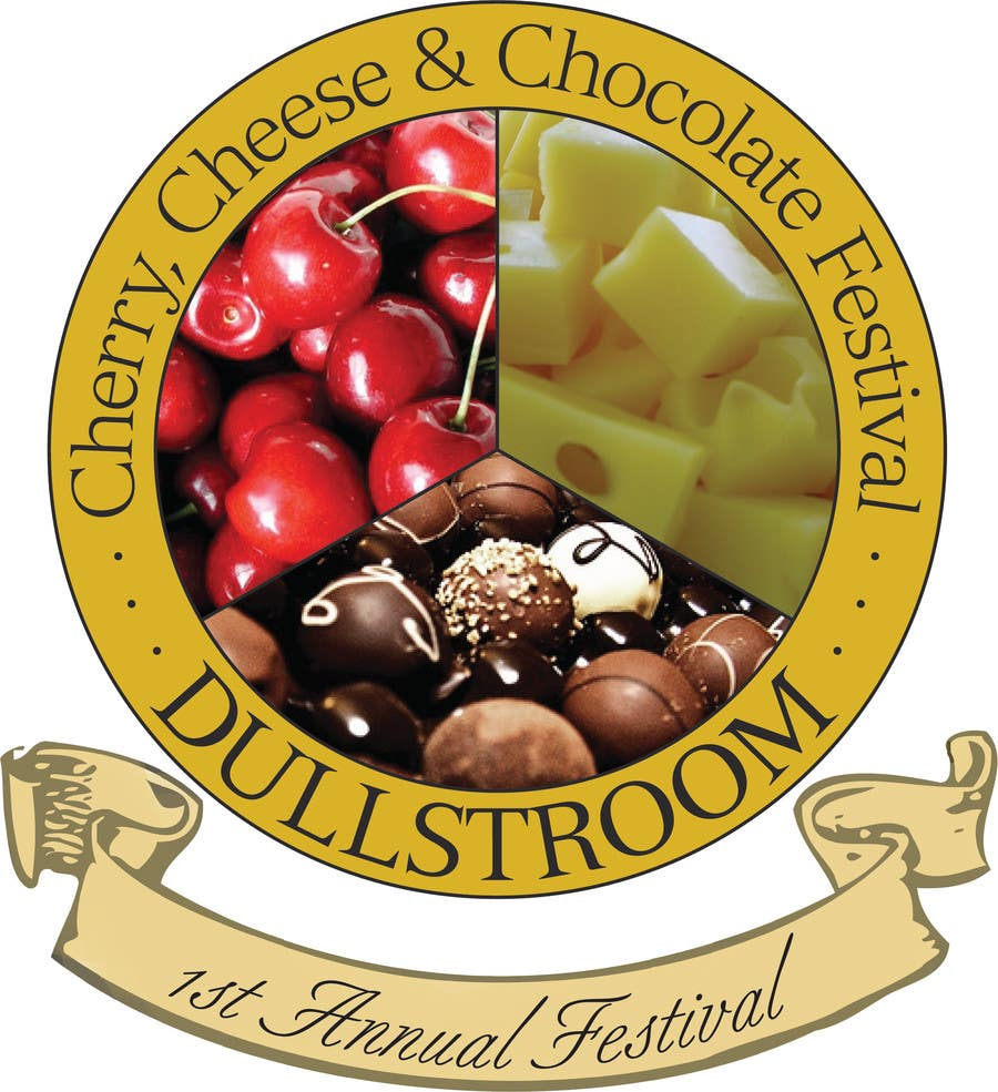 Contest Entry #                                        1                                      for                                         Flyer & Basic Logo for Dullstroom Cherry Cheese and Chocolate Festival