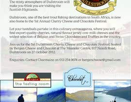 nefausey tarafından Flyer & Basic Logo for Dullstroom Cherry Cheese and Chocolate Festival için no 6