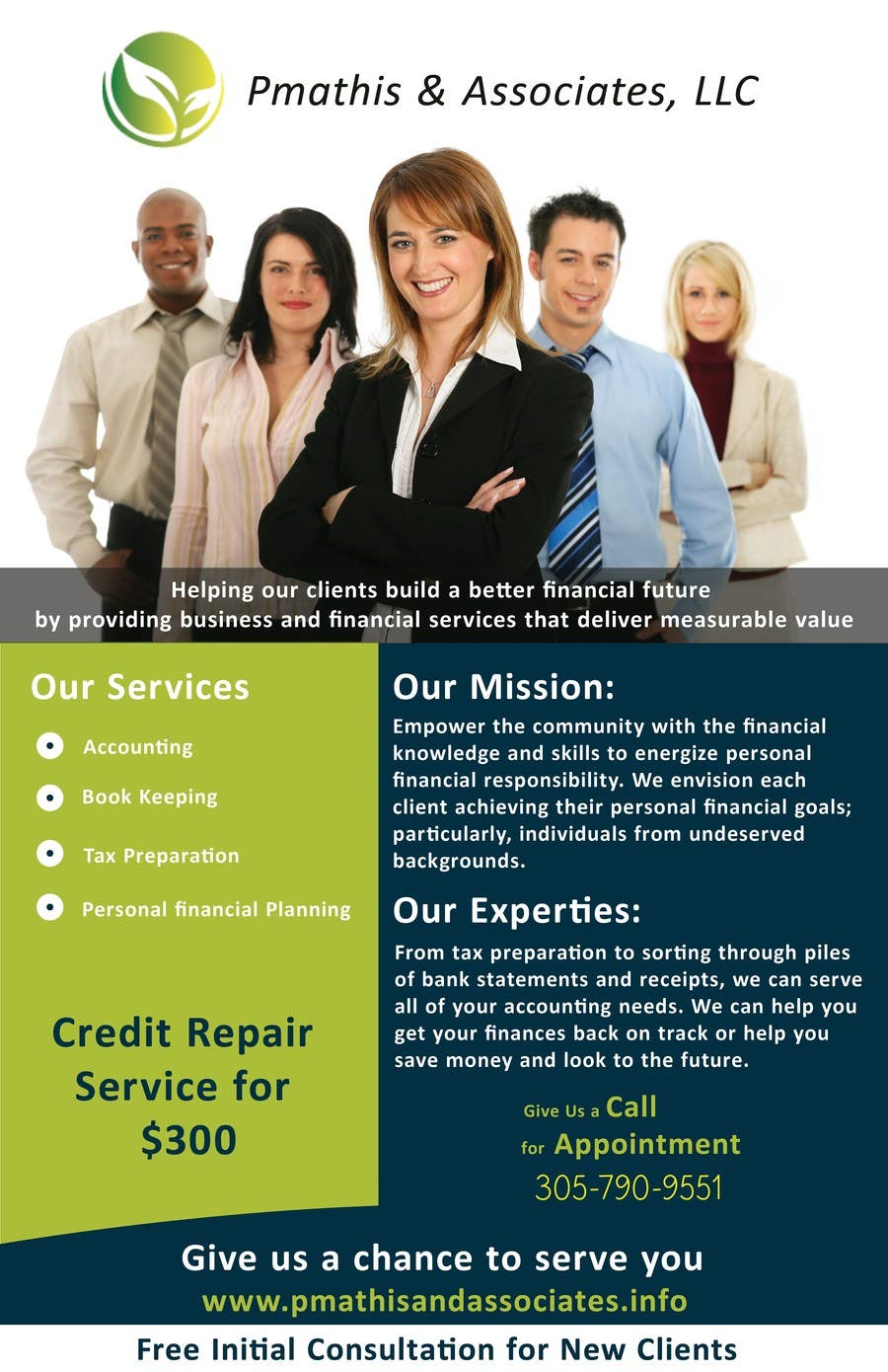 #20 for Design a Flyer for my Credit Repair Company by yasserwaqar