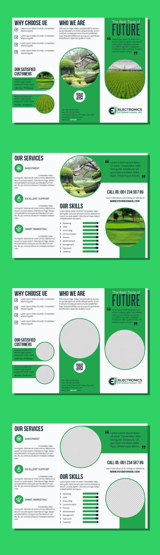 Kilpailutyö #75 kilpailussa Tri Fold Brochure Design