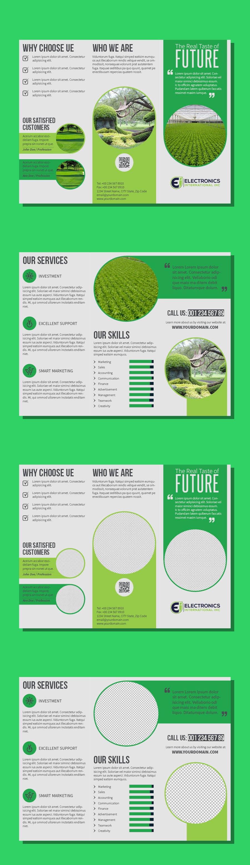 Kilpailutyö #77 kilpailussa Tri Fold Brochure Design