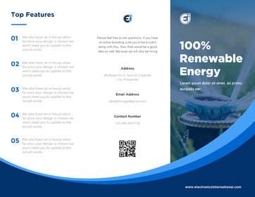 Nro 22 kilpailuun Tri Fold Brochure Design käyttäjältä abdullahlingga