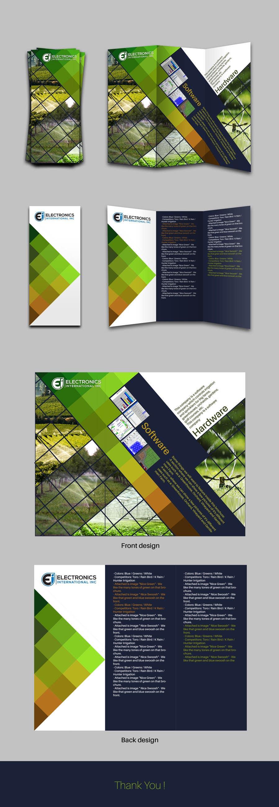 Kilpailutyö #83 kilpailussa Tri Fold Brochure Design