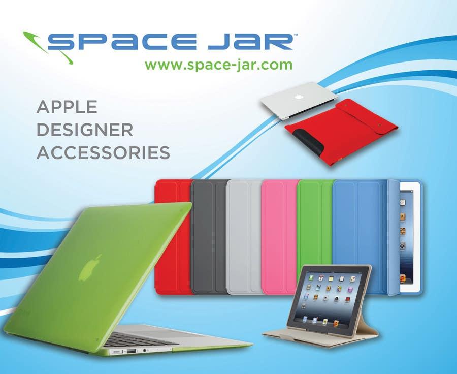 Entry #5 by arteswen for Space Jar design flyer for Apple