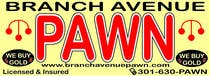 Bài tham dự #16 về Graphic Design cho cuộc thi Graphic Design for Branch Avenue Pawn Store Front Sign