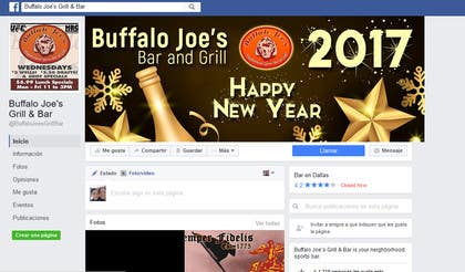 #26 pentru New Year Eve Image/Banner for a Dallas Bar de către jessikaguerra