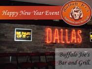 "Graphic Design Intrarea #2 pentru concursul ""New Year Eve Image/Banner for a Dallas Bar"""