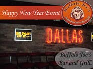 "Graphic Design Intrarea #3 pentru concursul ""New Year Eve Image/Banner for a Dallas Bar"""