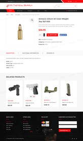 #39 for WordPress Woocommerce Website Theme, template and installation of a full site af tamamanoj
