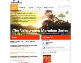 #14 cho Design a Website Mockup for TheMarathonShop bởi maits90