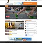 Bài tham dự #18 về Graphic Design cho cuộc thi Design a Website Mockup for TheMarathonShop