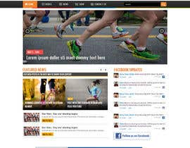 #18 cho Design a Website Mockup for TheMarathonShop bởi graphicethic