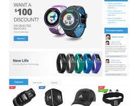 #9 cho Design a Website Mockup for TheMarathonShop bởi Kumarakesh