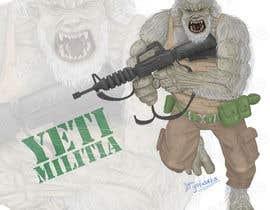 ysfworks tarafından Yeti Illustration for business için no 14