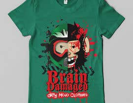 #30 para T-Shirt Design: Brain Damaged por Franstyas