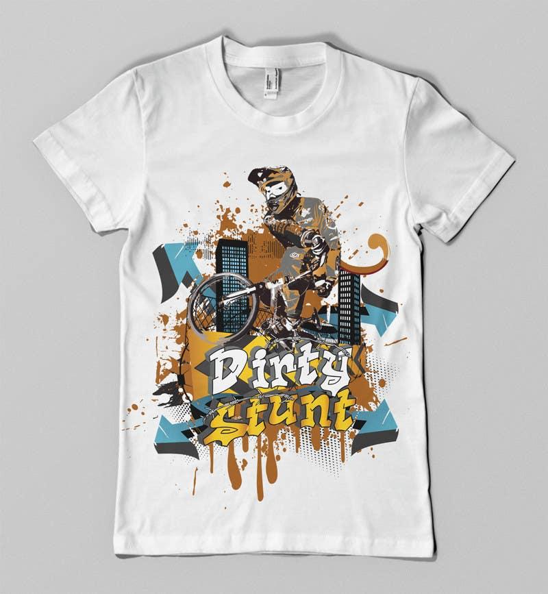 Proposition n°                                        44                                      du concours                                         T-Shirt Design Contest: Dirty Stunt