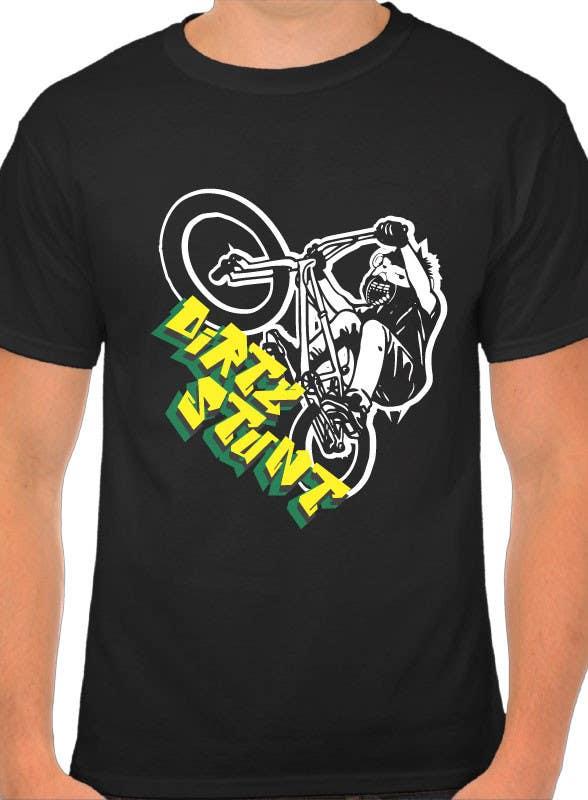 Proposition n°                                        3                                      du concours                                         T-Shirt Design Contest: Dirty Stunt