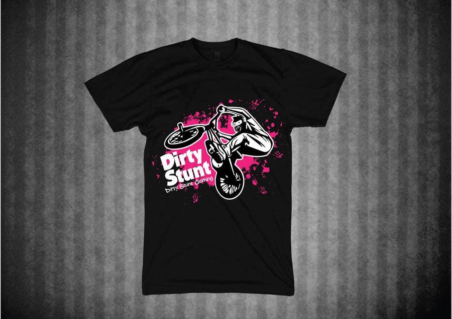 Proposition n°                                        28                                      du concours                                         T-Shirt Design Contest: Dirty Stunt