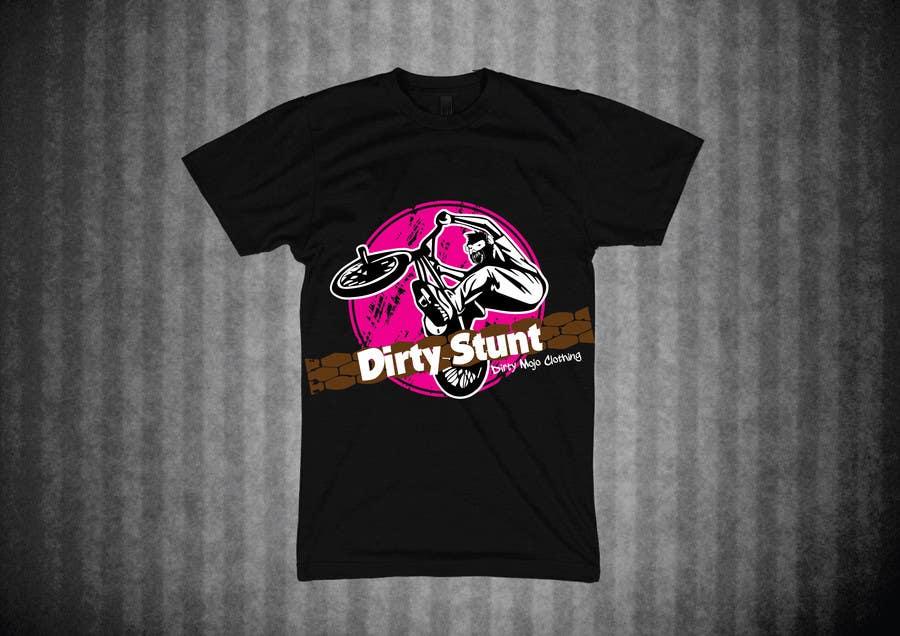 Proposition n°                                        31                                      du concours                                         T-Shirt Design Contest: Dirty Stunt