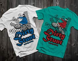 nº 42 pour T-Shirt Design Contest: Dirty Stunt par Drhen