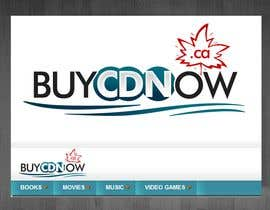 #98 cho Logo Design for BUYCDNOW.CA bởi tilak1977