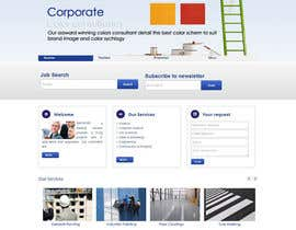 #12 para Design a Wordpress Mockup for one page and install into website por lassoarts