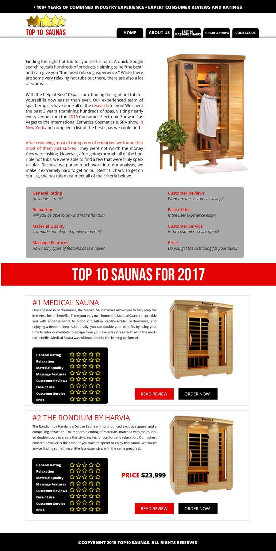 best homepage design project 52 freelancer. Black Bedroom Furniture Sets. Home Design Ideas