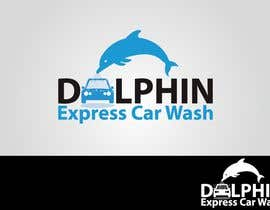 #79 dla Logo Design for Dolphin Express Car Wash przez colgate