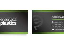 #21 para Business cards Ensenada Plastics por ro2020