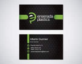 #22 para Business cards Ensenada Plastics por ro2020