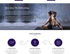 nº 18 pour Build a Website for a meditation movement par gautamjana
