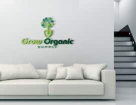 #284 per Grow Organic Supply - logo creation da RezwanStudio