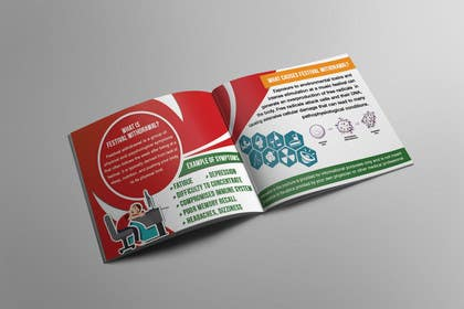#11 for Design a wallet/pocket size Brochure for a Supplement (Content already provided) by midoelprince74