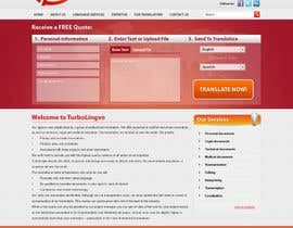 #20 untuk Website Design for Turbolingvo oleh zabirafique
