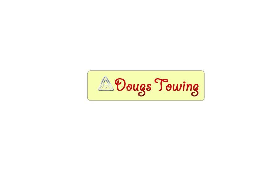 Penyertaan Peraduan #72 untuk Logo Design for Dougs Towing